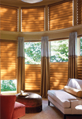 window treatments multi blind room with option for sunlight bottom or top