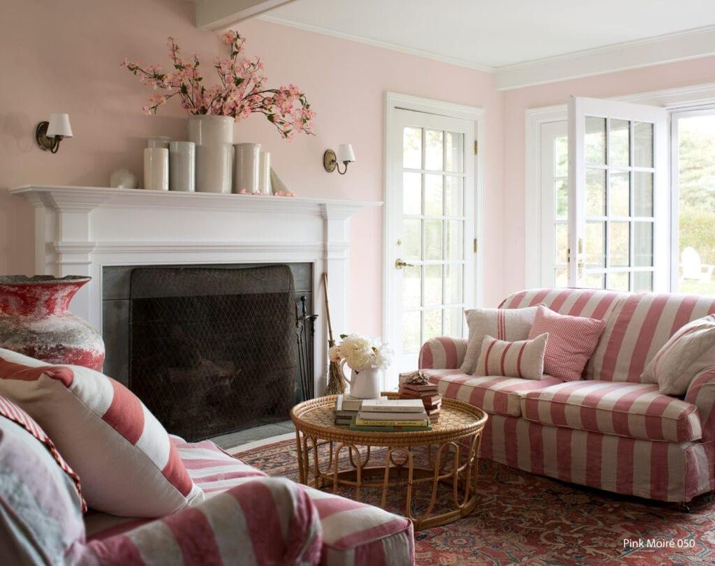 Benjamin Moore Color #050 Pink Moire