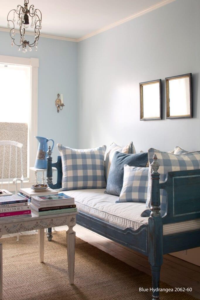 Benjamin Moore Color #2062-60 Blue Hydrangea
