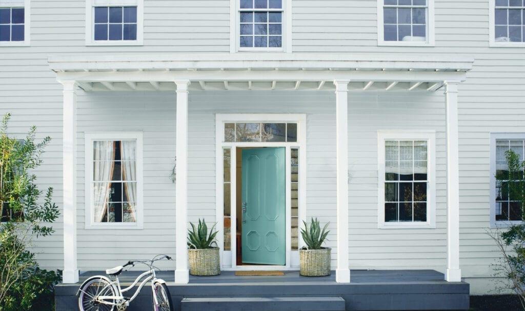 House: HC-147 Woodlawn Blue       Door: 2051-40 Majestic Blue