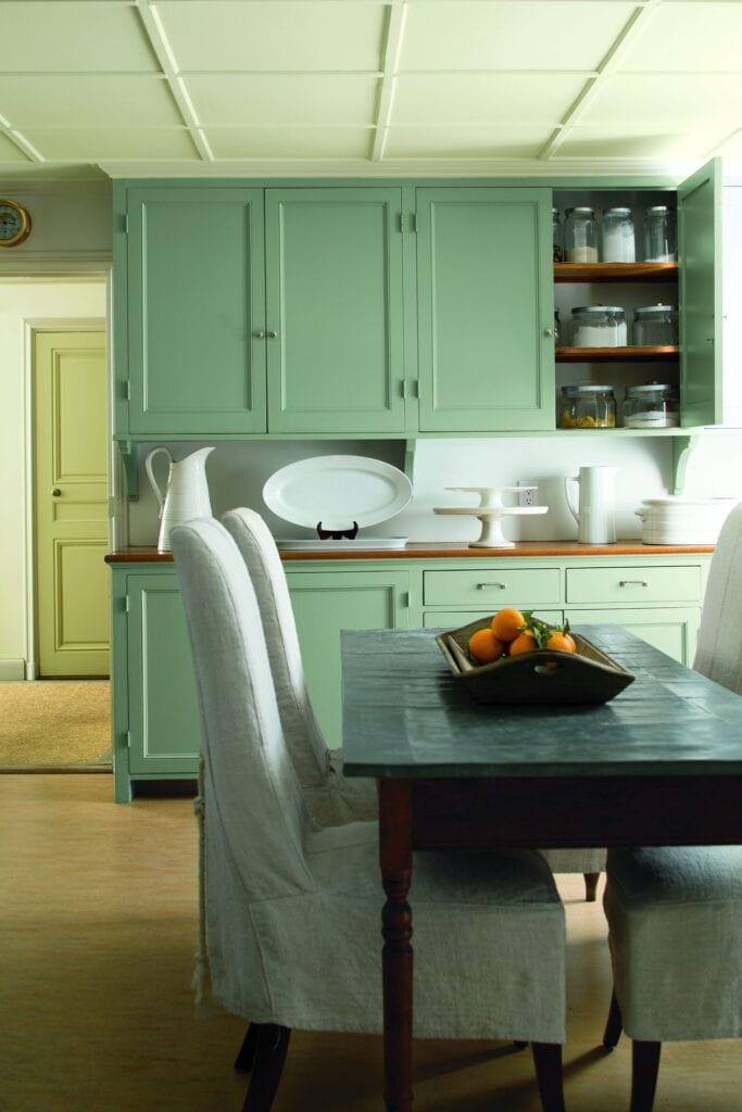 Benjamin Moore Color #HC-132 Harrisburg Green