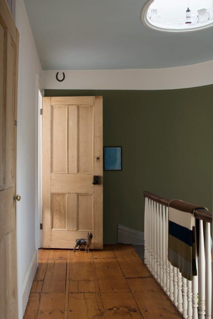 Benjamin Moore Color #HC-134 Tarrytown Green