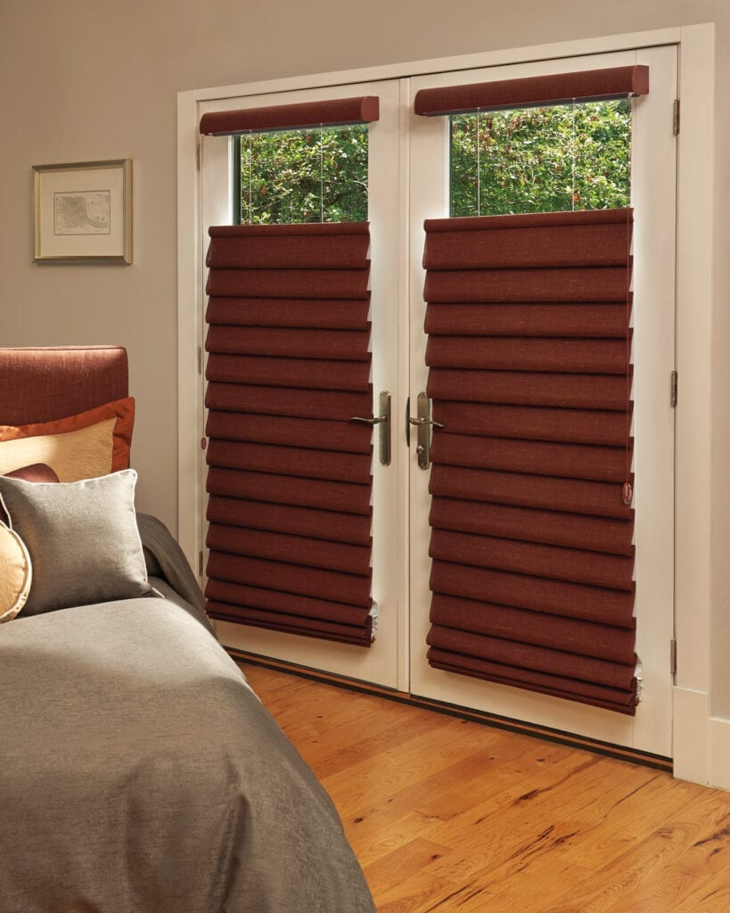Vignette® Modern Roman Shades with Top-Down/Bottom Up feature