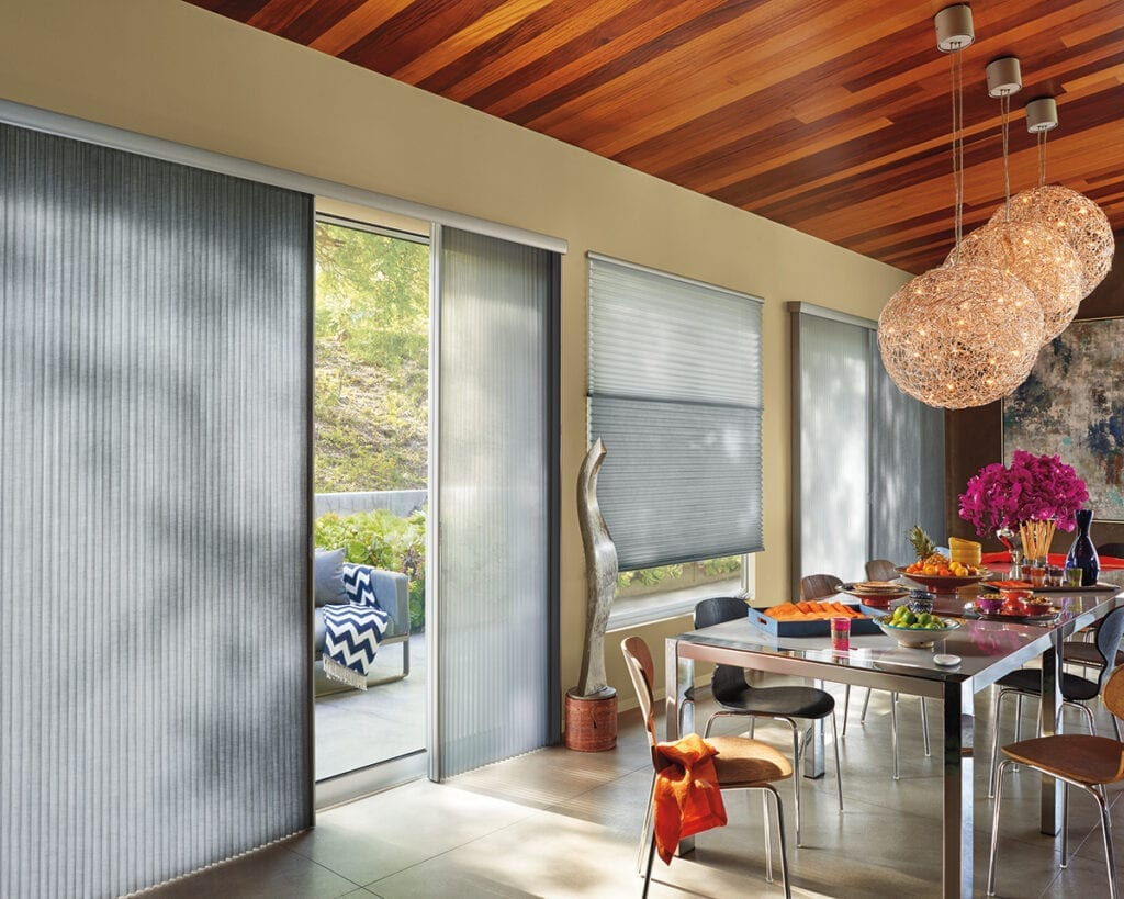 Applause® Honeycomb Shades in Vertiglide™ style