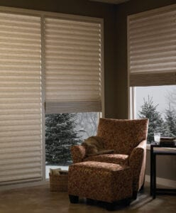 Vignette® Modern Roman Shades tiered/stacking style