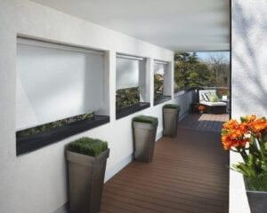 Designer Screen Shades - outdoor patio shades
