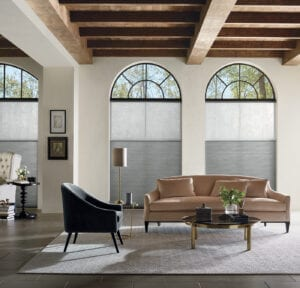 Duette® Honeycomb Shades with DuoLite® feature
