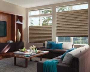 Solera® Soft Shades with top-down/bottom-up feature