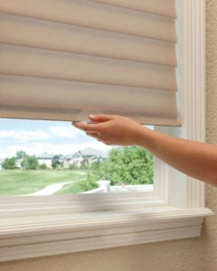 Silhouette® Window Shadings with LiteRise® cordless feature
