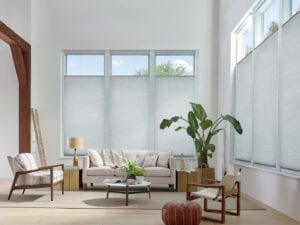 Applause® Honeycomb Shades with top-down/bottom-up feature