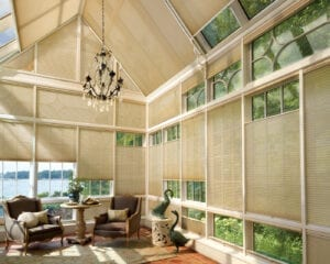 Duette™ Honeycomb Shades -- PowerView® Top-Down/Bottom Up and Skylift