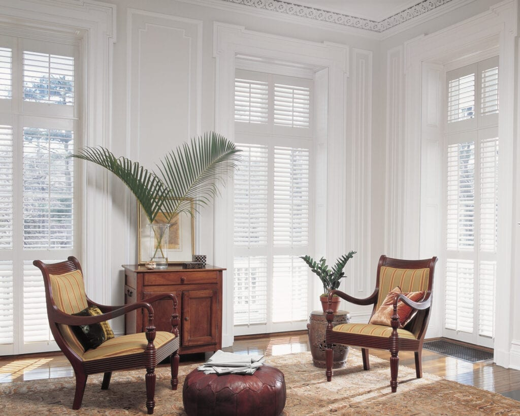 NewStyle® Plantation Shutters - with front tilt bar