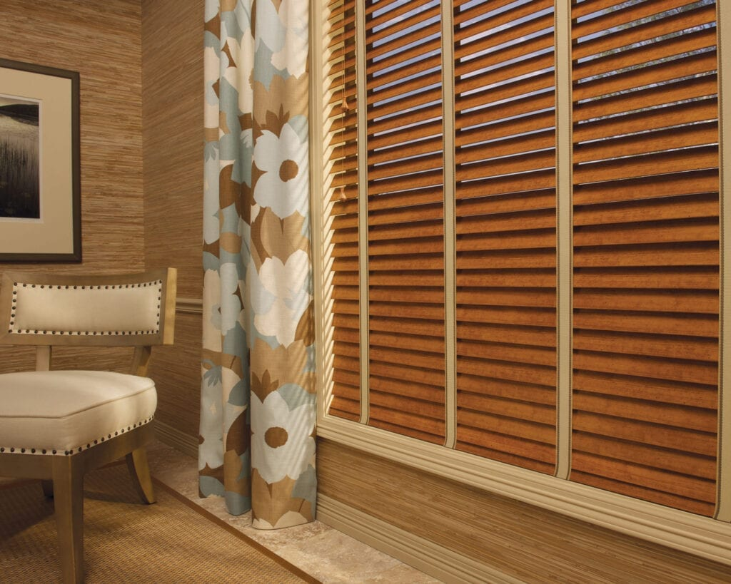 EverWood® TruGrain® Blind with cloth tapes